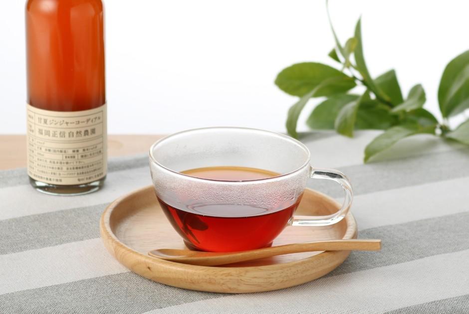 甘夏ジンジャーコーディアルのカラダ温め紅茶